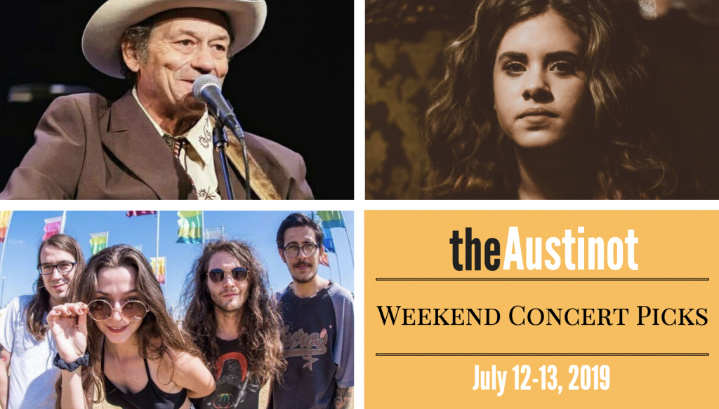 Austinot Weekend Concert Picks July 12-13, 2019