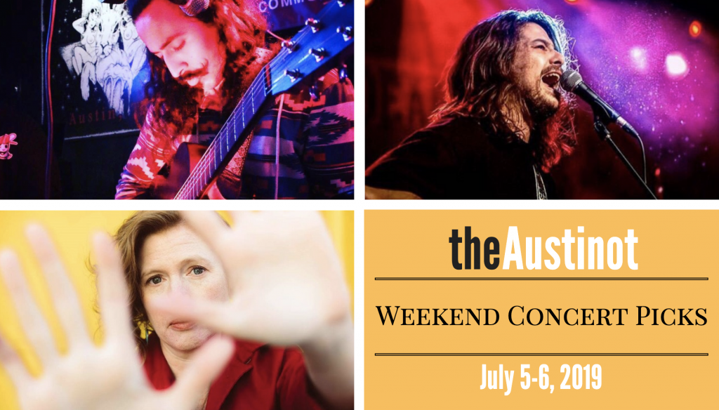 Austinot Weekend Concert Picks July 5, 2019
