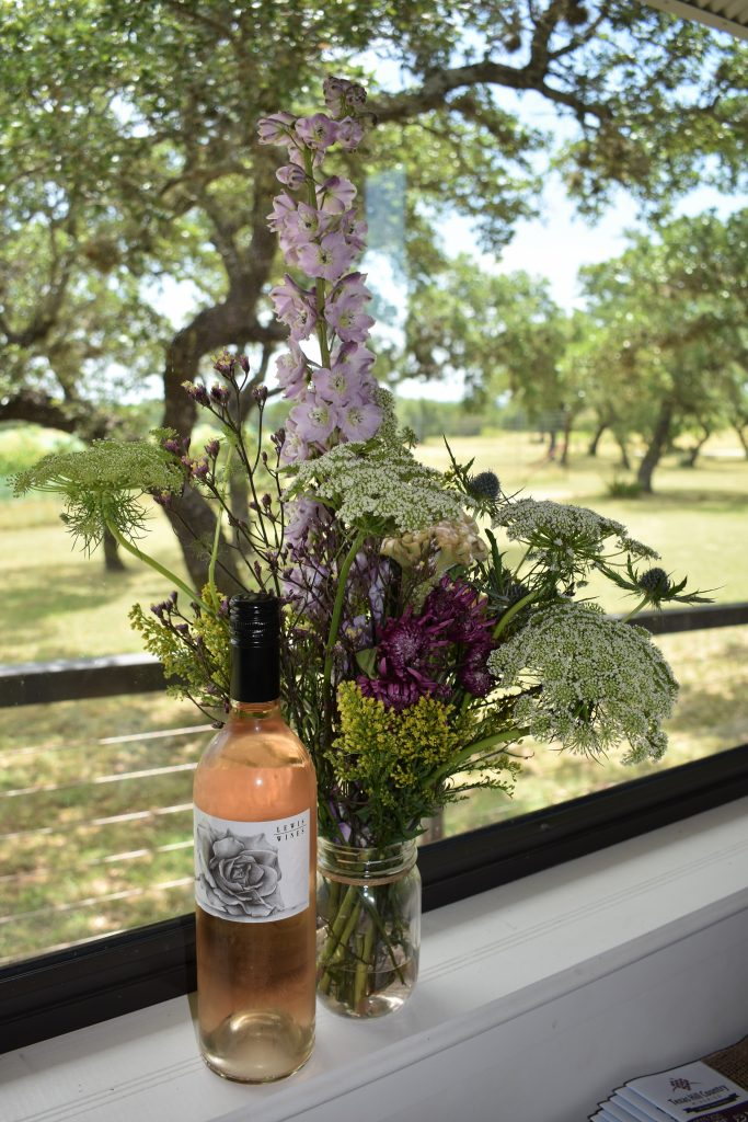Lewis Wines Rose and Flowers