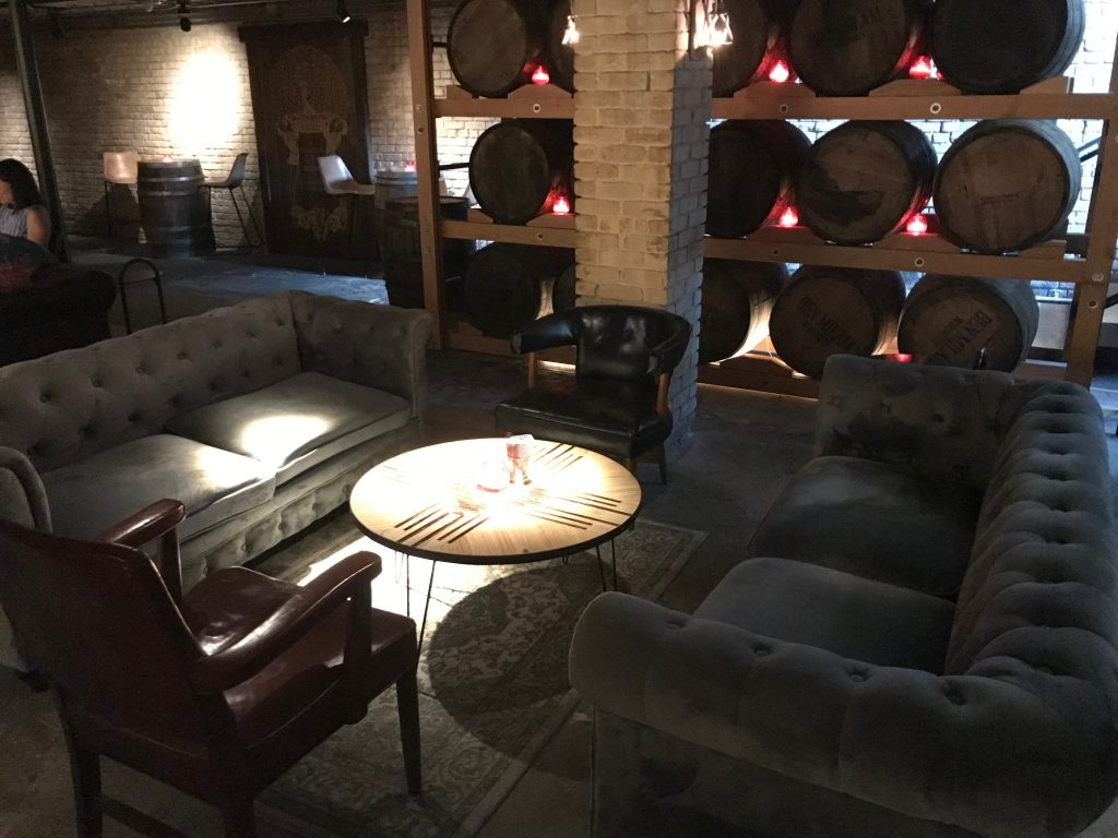 Comfortable Sofas at Downtown Bar in Austin