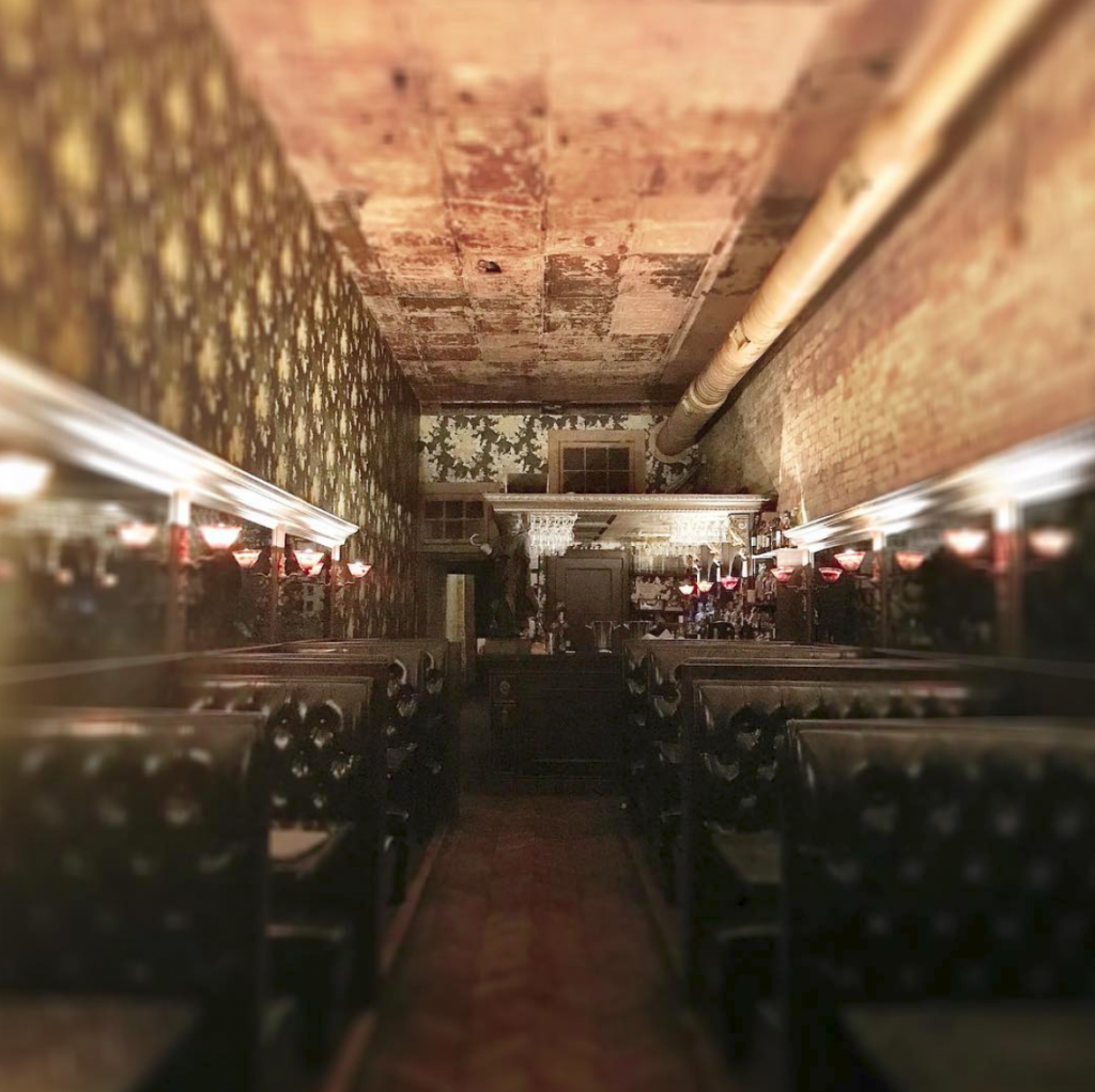Midnight Cowboy Speakeasy Interior