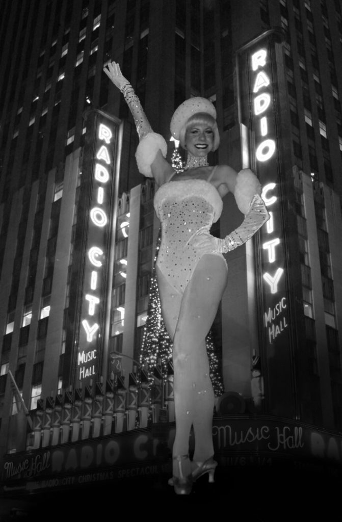 Jennifer McCamish as a Rockette