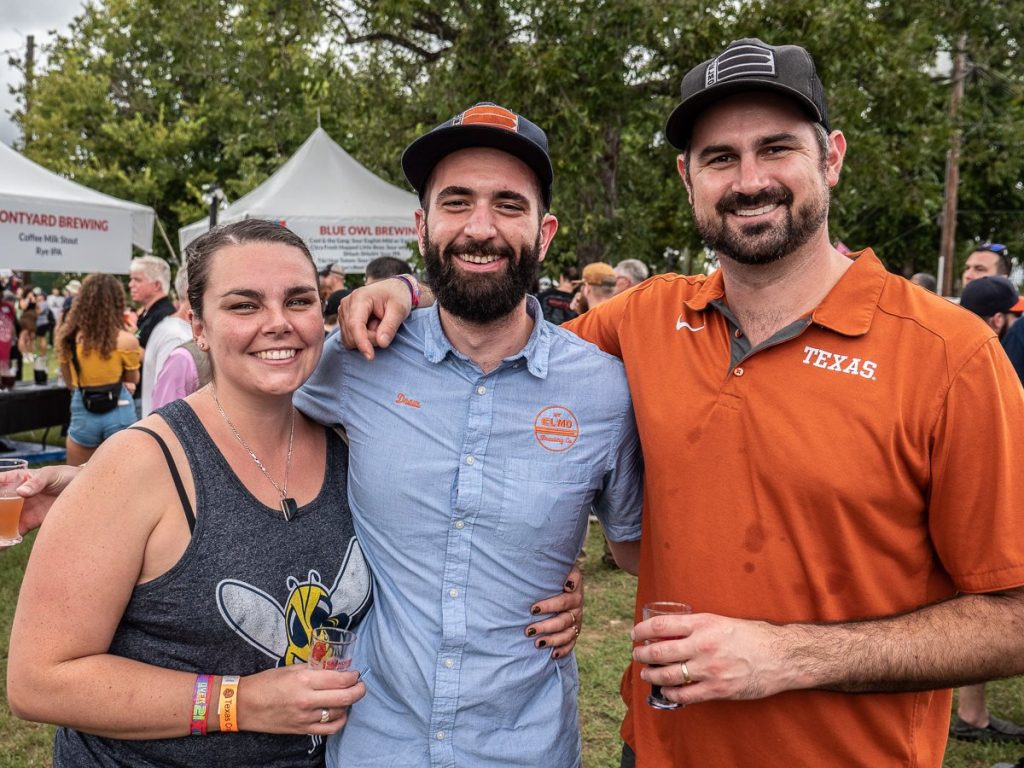 St. Elmo at Texas Craft Brewers Festival