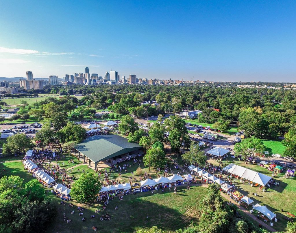Texas Craft Brewers Festival Aerial