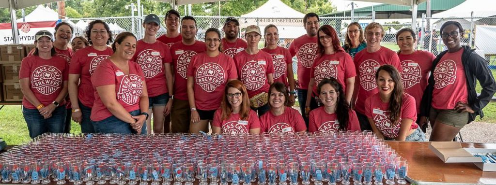 Texas Craft Brewers Festival Volunteers