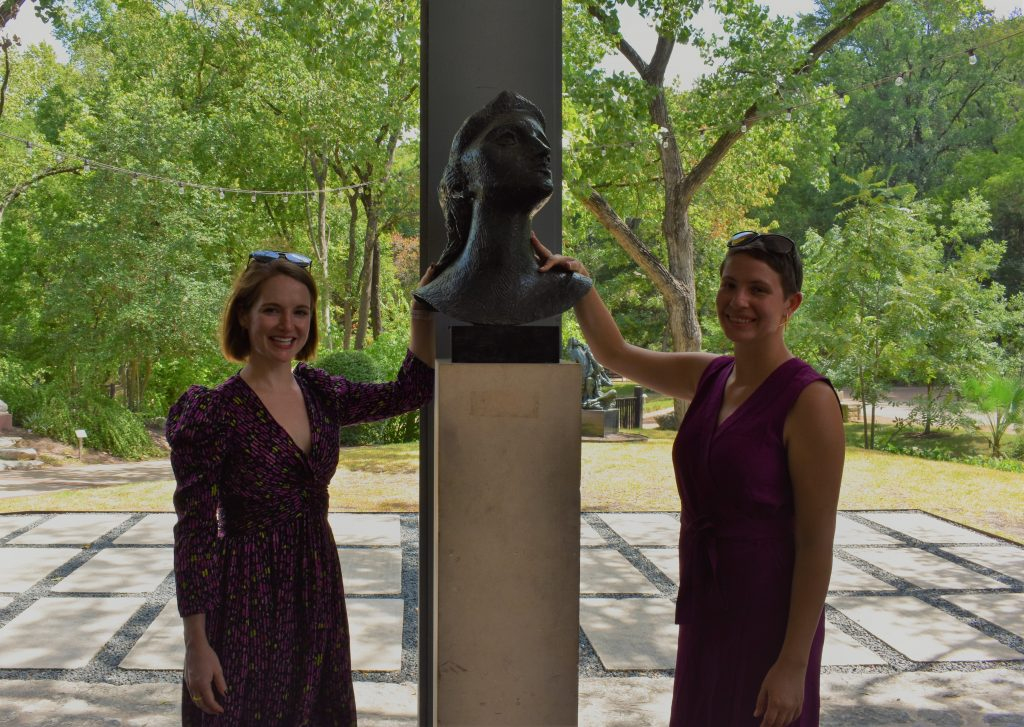Touch Tours for Visually Impaired at Umlauf Sculpture Garden