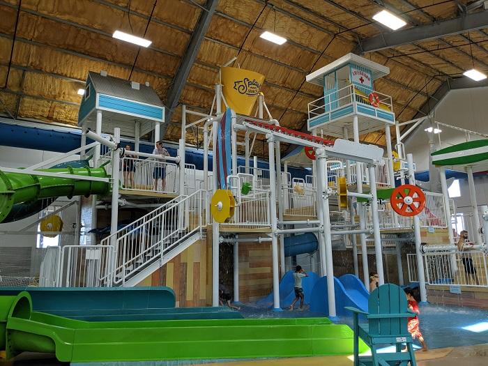 Splash Shack Water Park Play Structure