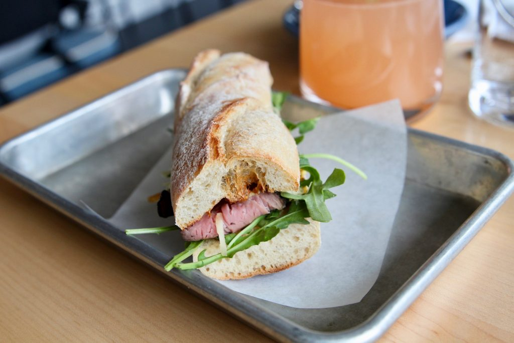 Roast Beef Sandwich at Rosedale Kitchen and Bar