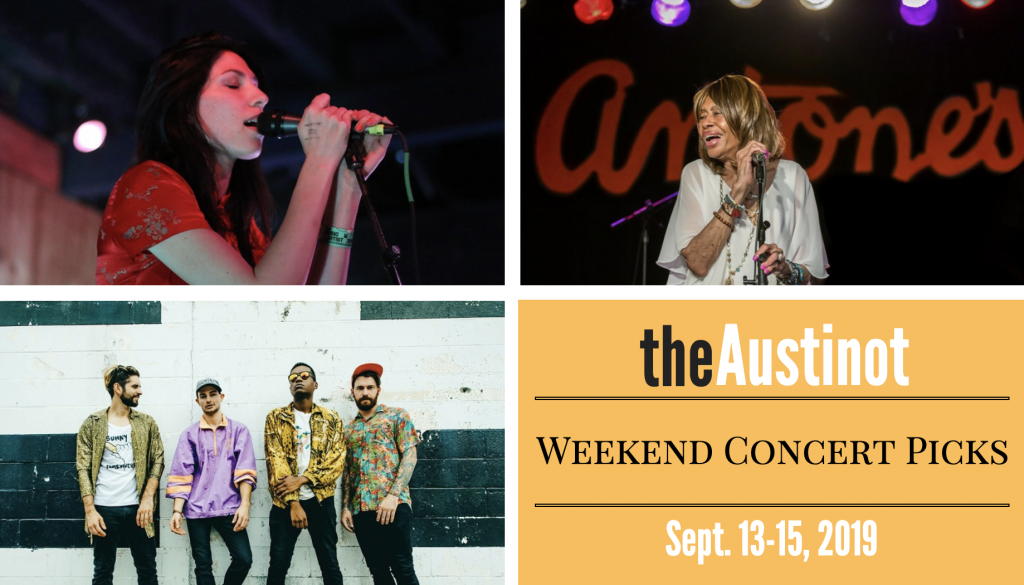 Austinot Weekend Concert Picks September 13
