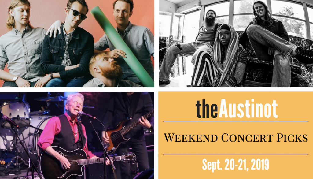 Austinot Weekend Concert Picks Sept 20 2019