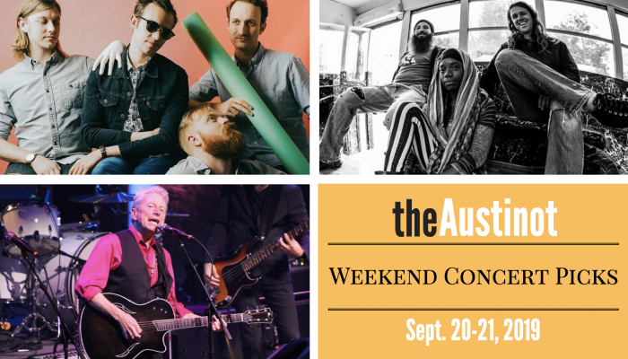 Austinot Weekend Concert Picks September 20