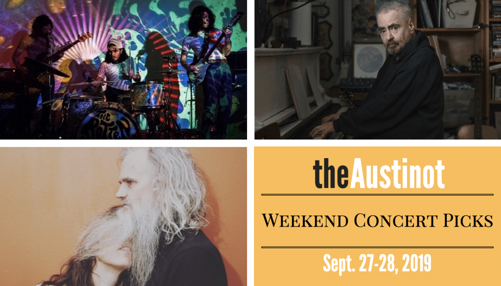 Austinot Weekend Concert Picks Sept 27 2019