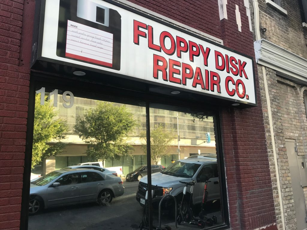 Floppy Disk Repair Co. Austin Speakeasy