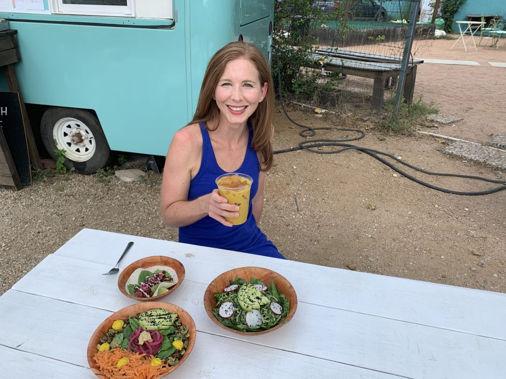 Curcuma Healthy Food Truck in Austin