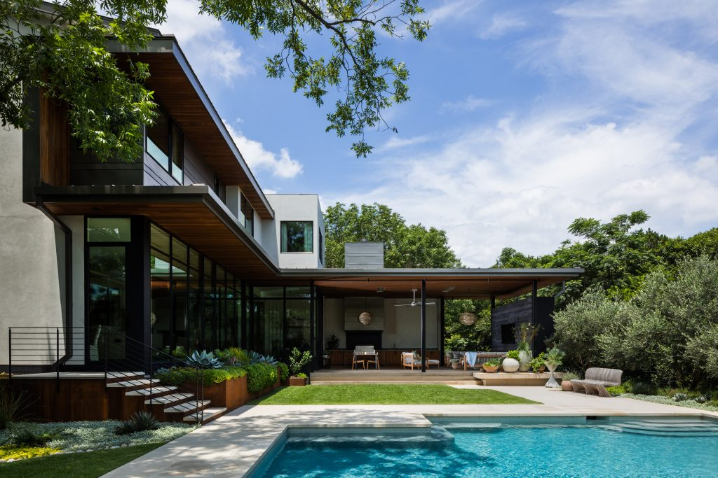 Foothill Terrace by LaRue Architects in Austin