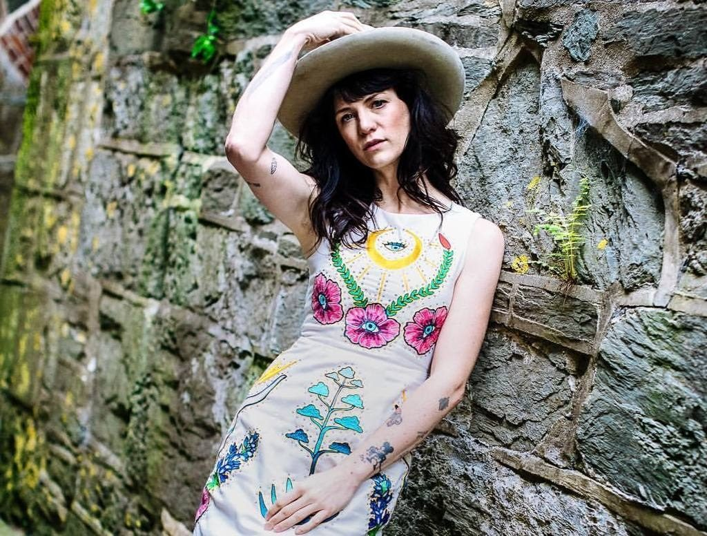 Country singer Nikki Lane in Outfit by Fort Lonesome
