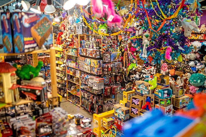 Toy Joy Store on 2nd Street in Downtown Austin