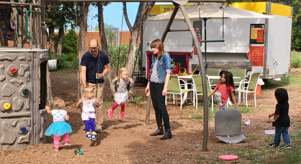 Family-friendly Food Truck Park in Austin