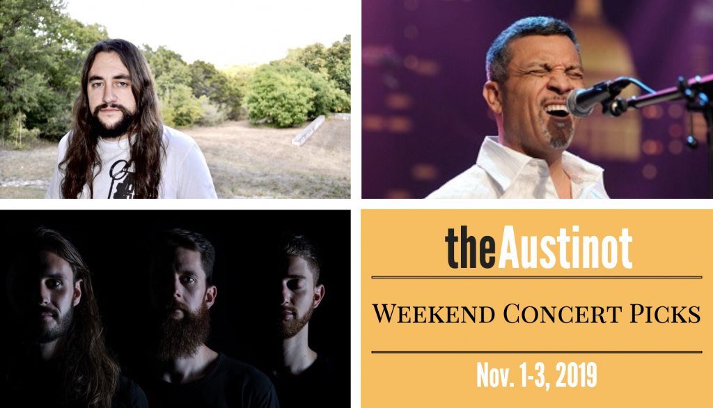 Austinot Weekend Concert Picks November 1