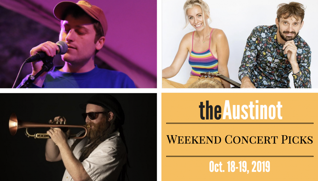 Austinot Weekend Concert Picks October 18 2019