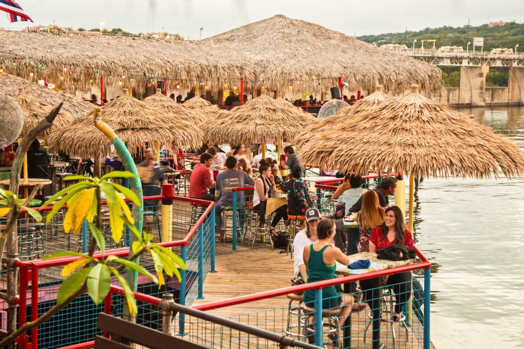 Hula Hut on Lake Austin