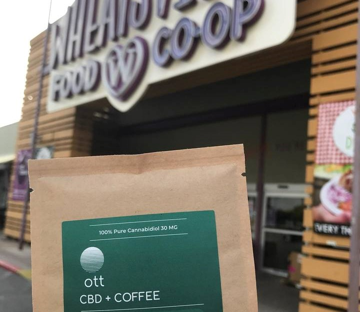 CBD Coffee at Wheatsville Co-op in Austin