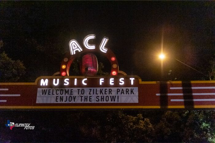 ACL Music Fest Entrance Sign 2019