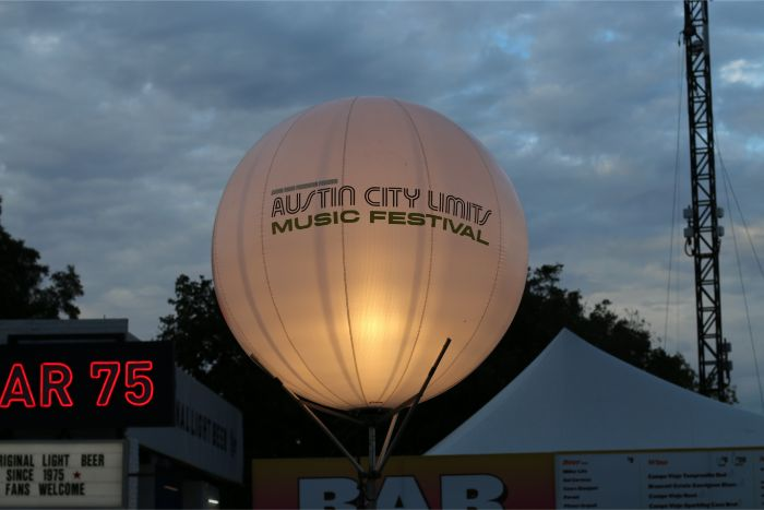 Austin City Limits Music Festival Balloon