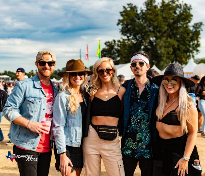 Friends at ACL Music Fest 2019