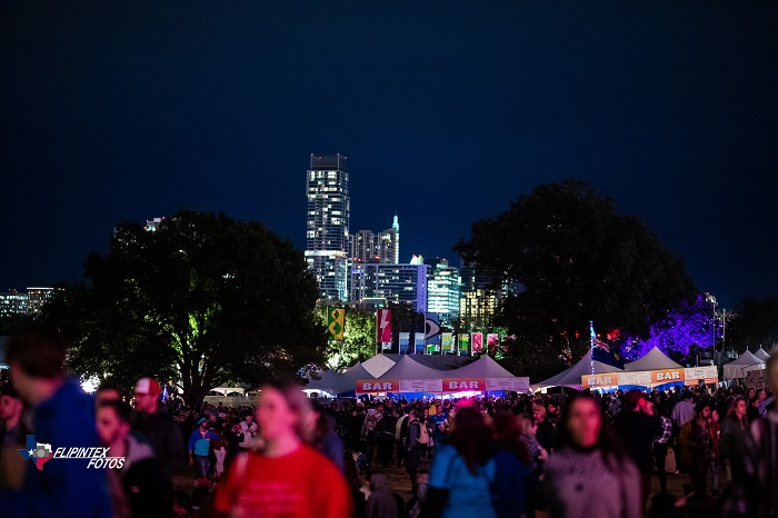 Austin Skyline From ACL Fest 2019
