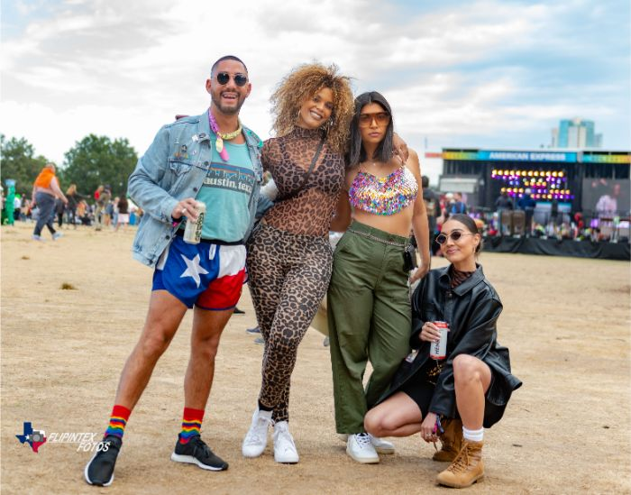 Styling at Austin City Limits Music Festival 2019