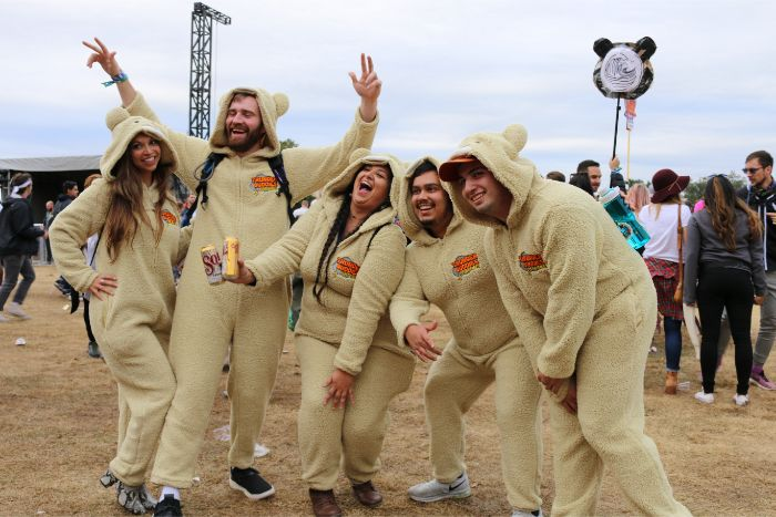 Bear Suits at Cold ACL Fest 2019