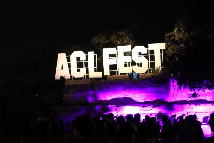 ACL Fest Sign 2019