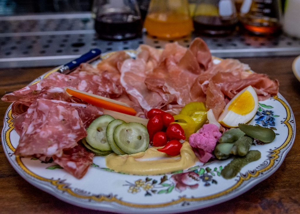 Charcuterie Board at Small Victory