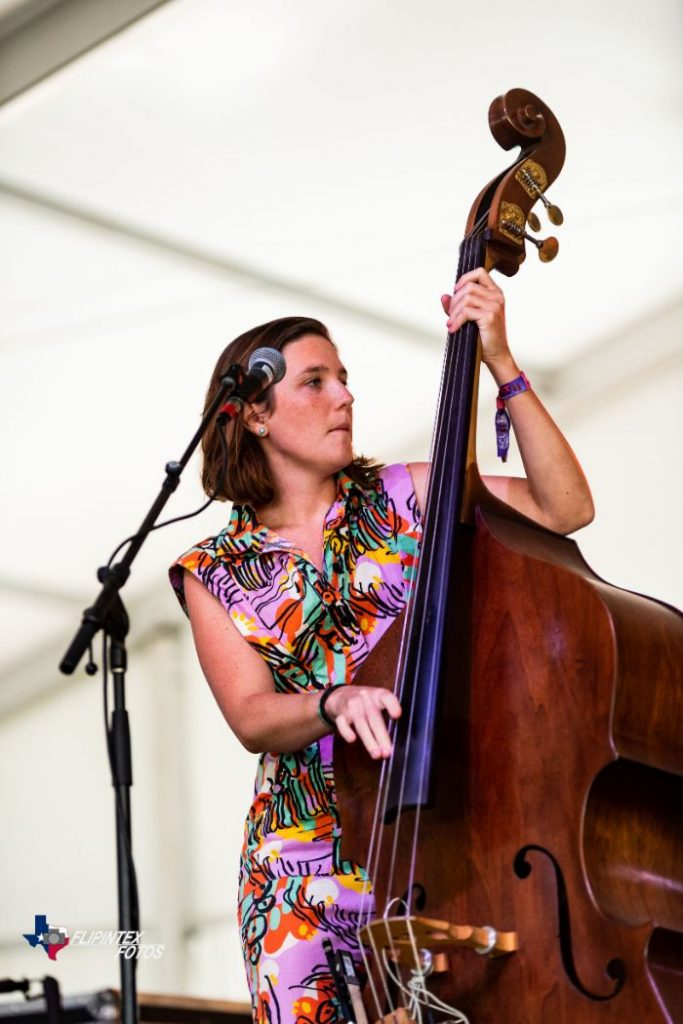 Ley Line Upright Bass at ACL Music Festival 2019
