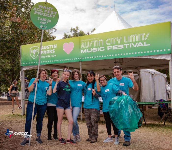 Austin Parks Foundation at ACL Fest 2019