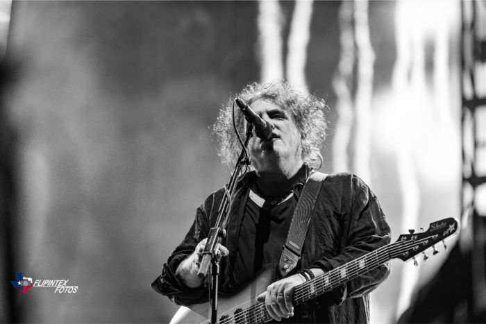 Robert Smith of The Cure at ACL Music Festival 2019
