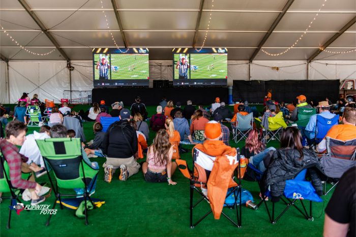 Texas Longhorns Game at ACL Music Fest 2019