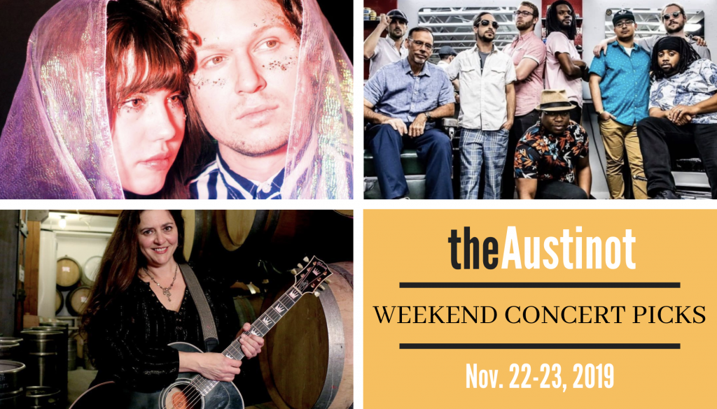 Austinot Weekend Concert Picks Nov 22-23 2019