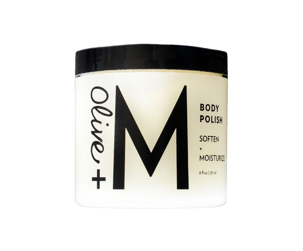 Olive + M Body Polish for Local Austin Gift
