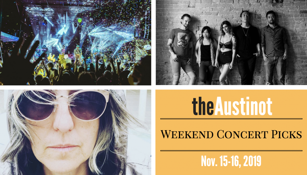 Austinot Weekend Concert Picks November 15 2019