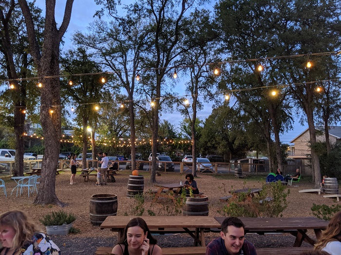 Outdoor Seating Area at Batch Brewery
