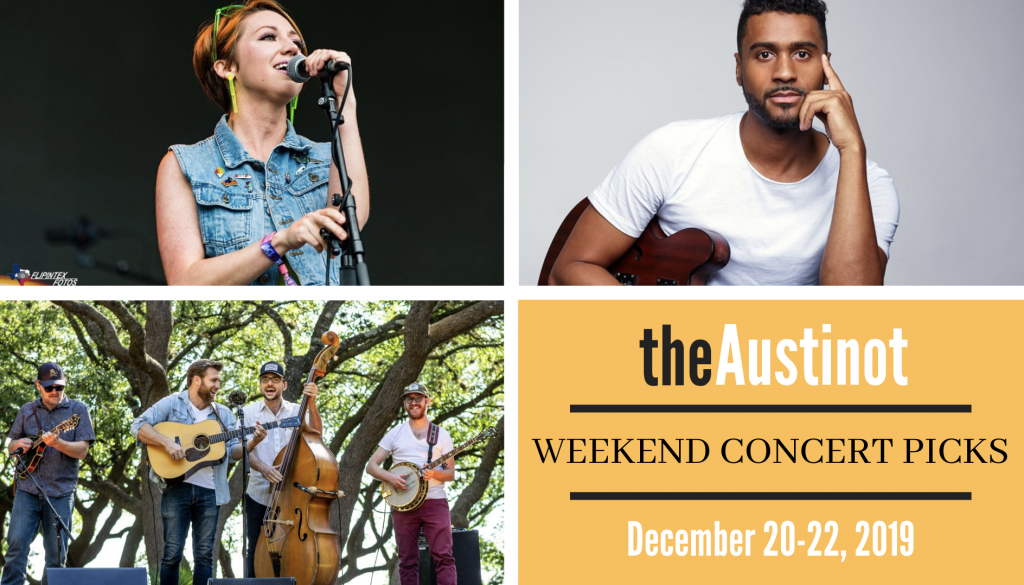 Austinot Weekend Concert Picks Dec 20, 2019