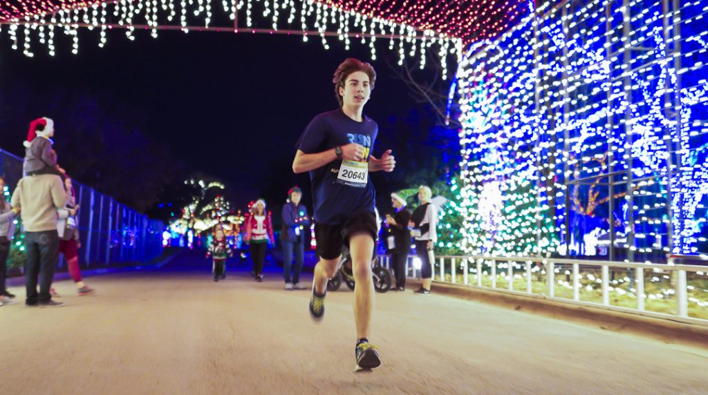 Fun Run at Austin Trail of Lights