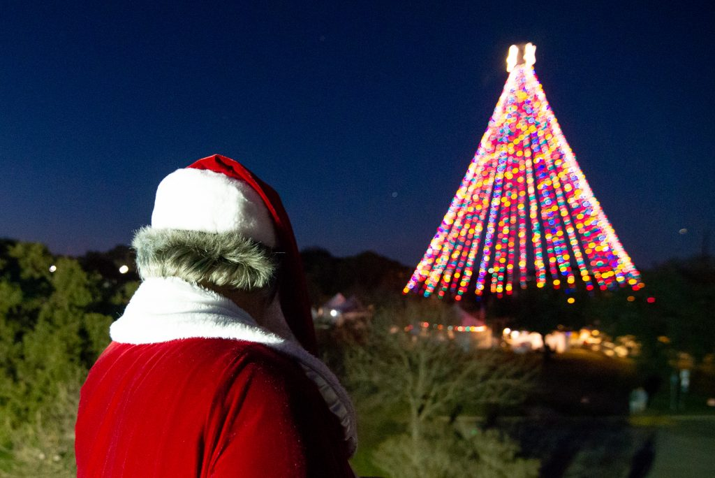 Santa at Austin Trail of Lights