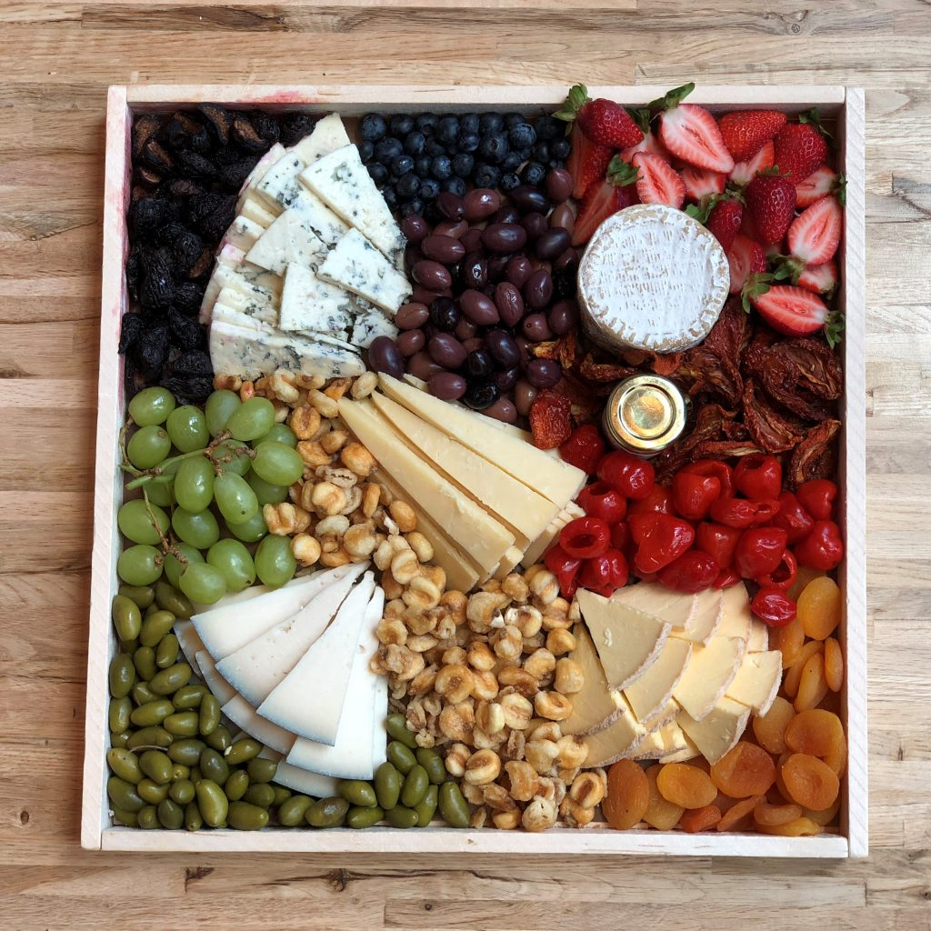 Holiday Party Trays With Cheese From Antonelli's in Austin