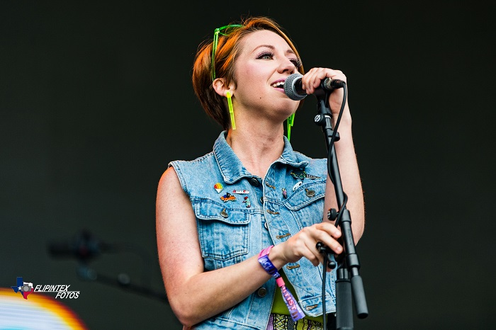 Sydney Simpson of Goons at ACL Music Festival