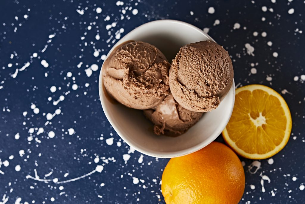 Orange Chocolate Ice Cream in Austin