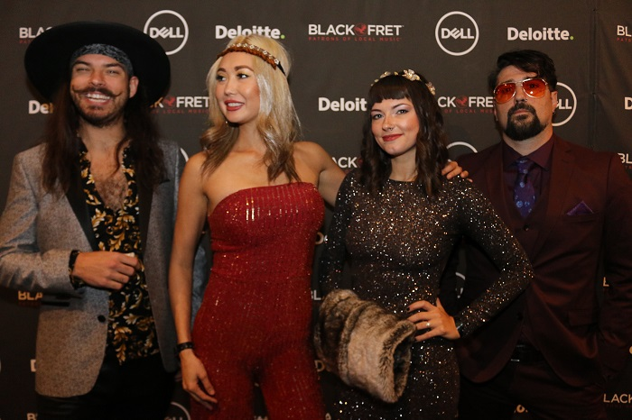 The Texas K.G.B. at Black Fret Ball 2019