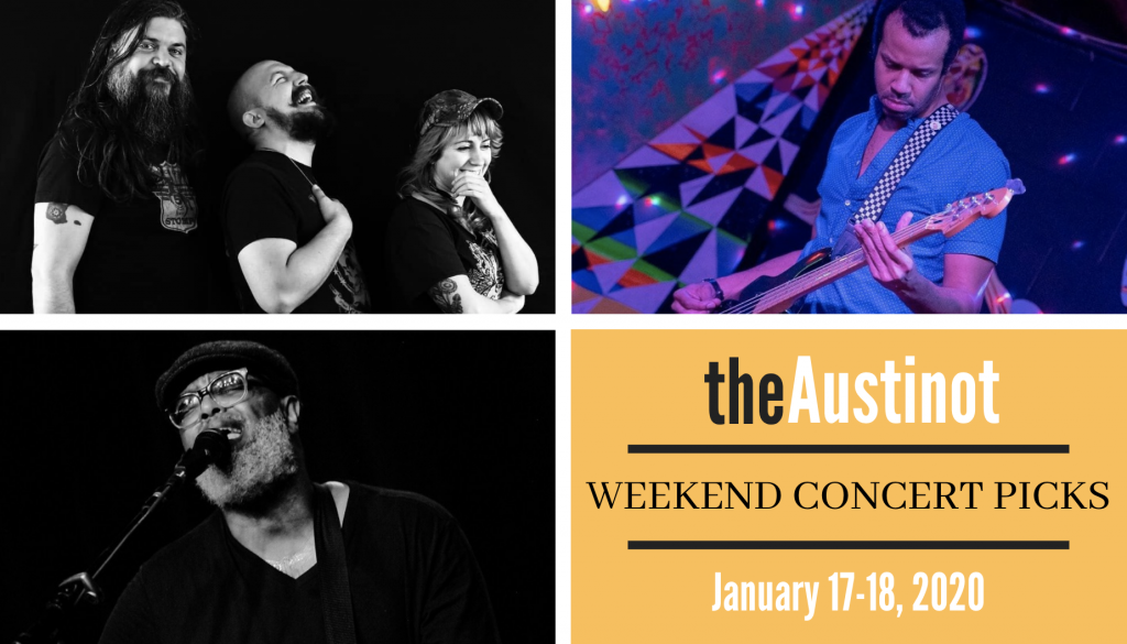 Austinot Weekend Concert Picks Jan 17 2020